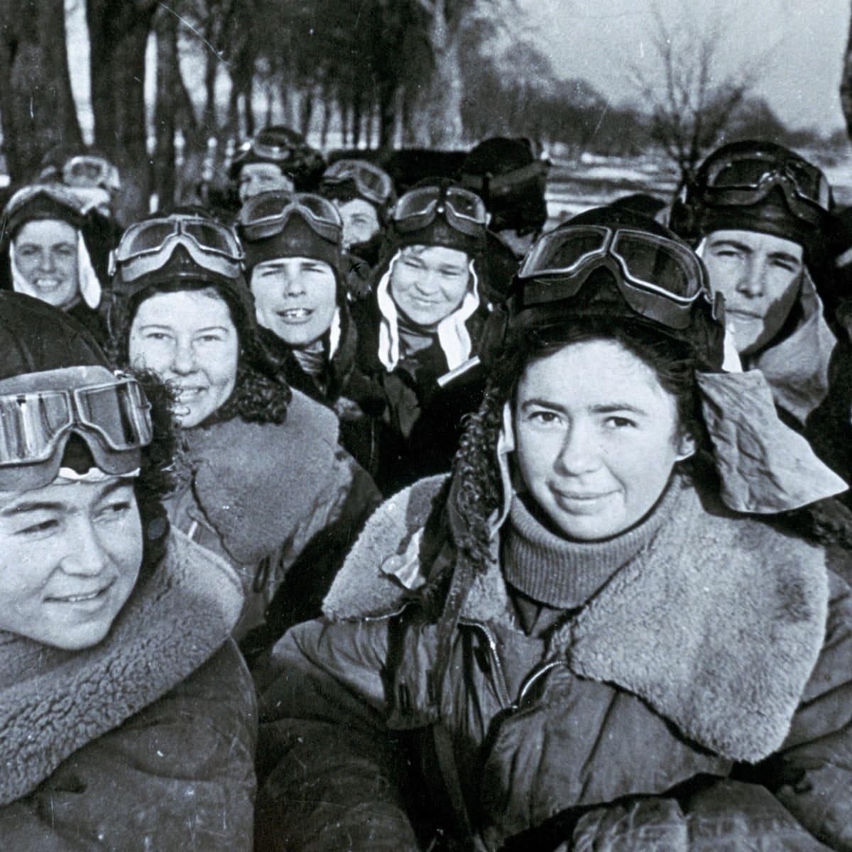 Sovyet Kadın Savaş Pilotları